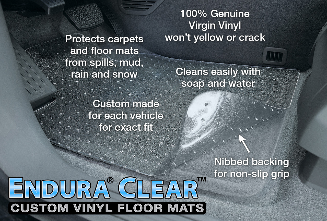 Endura® Clear Custom Floor Mats
