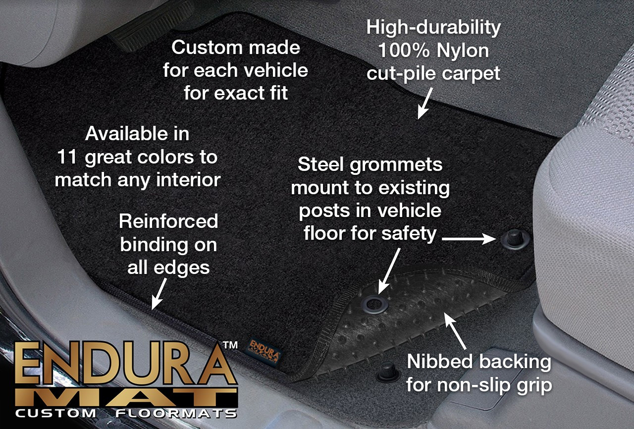 Endura® Custom Floor Mats