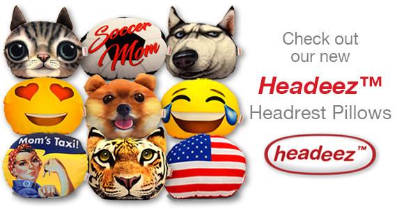 Headeez™ Headrest Pillows