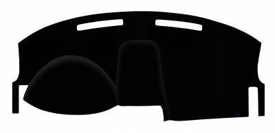 2010 DODGE CHARGER DASH COVER