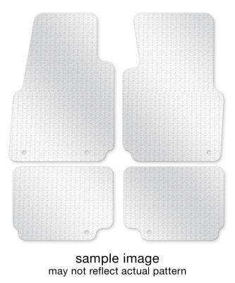 1986 MERCEDES-BENZ 190D Floor Mats FULL SET (2 ROWS)