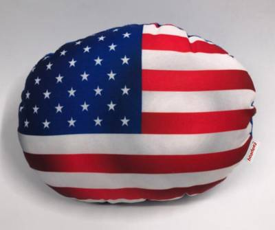 Headeez™ Headrest Pillow US Flag