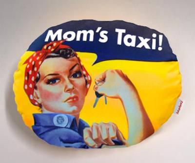 Headeez™ Headrest Pillow Mom's Taxi