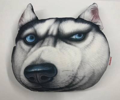 "Headeez™ Headrest Pillow Husky ""Dusty"""