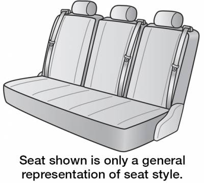 2019 FORD TRANSIT-350 SEAT COVER REAR/MIDDLE
