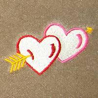 Hearts with Arrow (LG311)