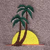 Sun & Palm Tree (LG230)