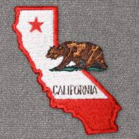 California with Flag (LG405)