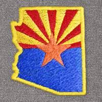 Arizona with Flag (LG404)