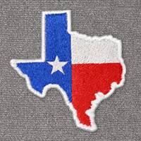 Texas with Flag (LG407)