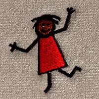 Happy Stick Girl (LG254)