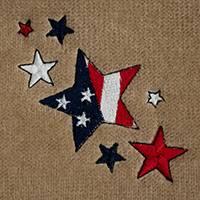 American Flag Stars (LG132)