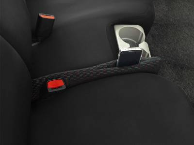 Dashcessories - Seat Gapper™ Seat-To-Console Wedge  - Seat Gapper Single Black