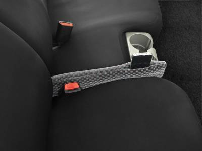 Dashcessories - Seat Gapper™ Seat-To-Console Wedge  - Seat Gapper Single Grey