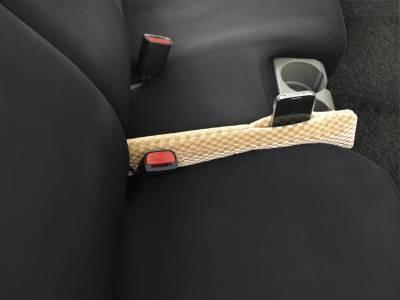 Dashcessories - Seat Gapper™ Seat-To-Console Wedge  - Seat Gapper Single Tan