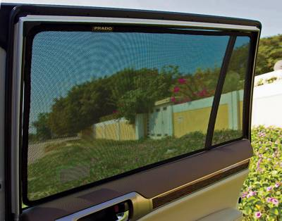 Sun Shades - Laser Shades™ - 17 Toyota Camry  Laser Shade