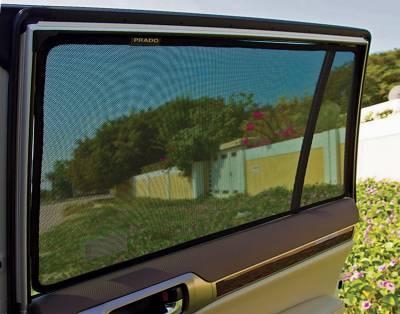 Sun Shades - Laser Shades™ - 13 Toyota Prius  Laser Shade
