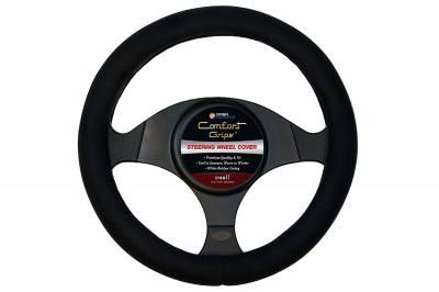Steering Wheel Covers - Ultra Plush  Black