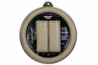 Dashcessories - Comfort Grips™ Combo Packs - Ultra Plush Combo Tan