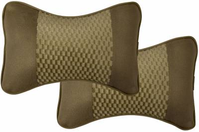 Dash Designs - Twin Headrest Cushion Tan