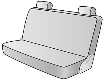 1995 JEEP WRANGLER SEAT COVER REAR/MIDDLE