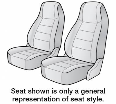 1989 CHEVROLET CAVALIER SEAT COVER FRONT BUCKET