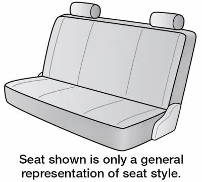 1981 GMC C2500 SUBURBAN SEAT COVER FRONT BENCH