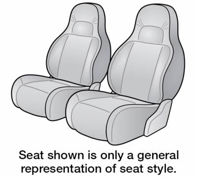 2003 JEEP GRAND CHEROKEE SEAT COVER FRONT BUCKET
