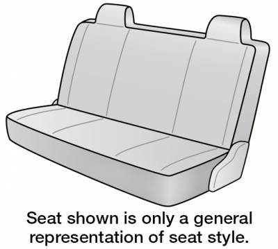 2002 NISSAN FRONTIER SEAT COVER REAR/MIDDLE