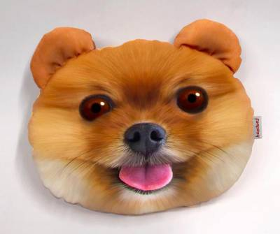 Headeez™ Headrest Pillows - Headeez™ Headrest Pillow Pom Puppy