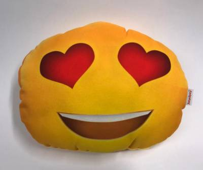 Headeez™ Headrest Pillows - Headeez™ Headrest Pillow Heart Eyes Emoji
