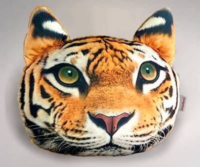 "Headeez™ Headrest Pillows - Headeez™ Headrest Pillow Tiger ""Keanau"""