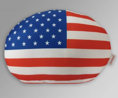 Dash Designs - Headeez™ Headrest Pillow US Flag