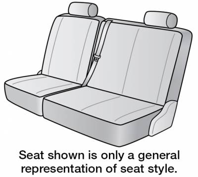 Seat Covers - 2nd Row - 2020 NISSAN NV3500 SEAT COVER REAR/MIDDLE