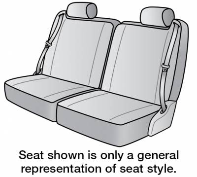 Seat Covers - 3rd Row - 2020 NISSAN NV3500 SEAT COVER REAR/MIDDLE