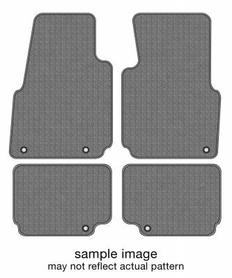 Dash Designs - 1990 JEEP WRANGLER Floor Mats FULL SET (2 ROWS)