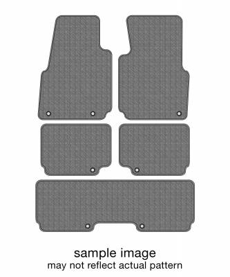Floor Mats - Endura Custom Floor Mats - 2021 TOYOTA HIGHLANDER Floor Mats FULL SET (3 ROWS)