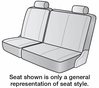 Seat Covers - 3rd Row - Dash Designs - 2020 KIA SEDONA SEAT COVER REAR/MIDDLE