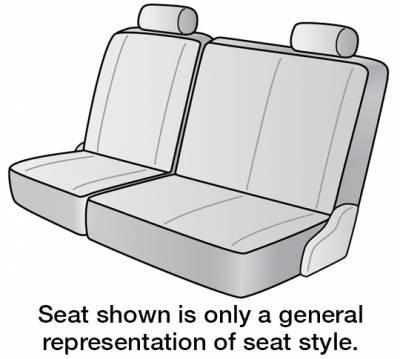 Seat Covers - 3rd Row - Dash Designs - 2021 KIA SEDONA SEAT COVER REAR/MIDDLE