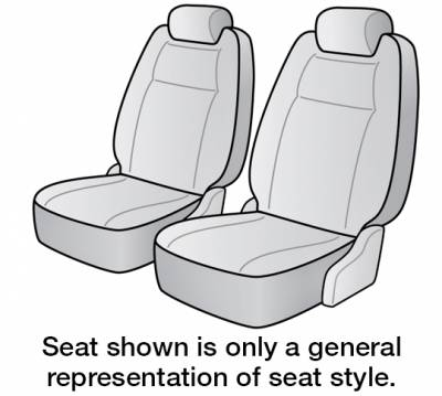 Seat Covers - 1st Row - Dash Designs - 2021 TOYOTA COROLLA SEAT COVER FRONT BUCKET