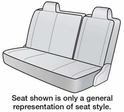 Seat Covers - 2nd Row - Dash Designs - 2021 TOYOTA Corolla SEAT COVER REAR/MIDDLE