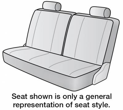 Seat Covers - 3rd Row - Dash Designs - 2020 VOLKSWAGEN Tiguan SEAT COVER REAR/MIDDLE