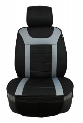 Seat Topper Comfort Cushion Black / Grey
