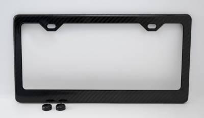 Dashcessories - License Plate Frames - Carbon Fiber License Plate Frame